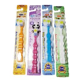 Lki panda Silicone Toothbrush for Toddler 4 pcs