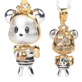 HoneyBee Bear pendant