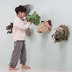 Hunting Trophy 3D puzzle Animal Head Hanging Wall | Felt toy, DIY product, educational product