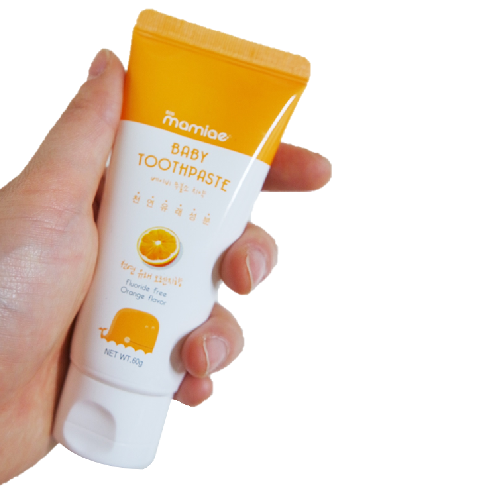 Baby Toothpaste60g (For 0-5 years old) orange