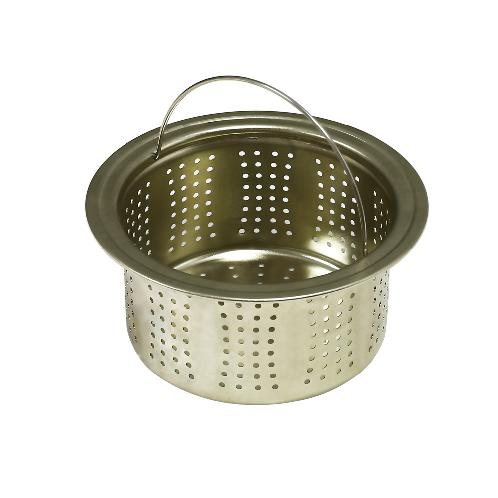 Silver Anti-bacterial Sink Strainer | aluminum,strainer,kitchen