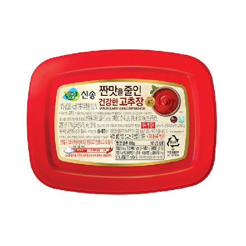 Red Hot pepper paste (Less sodium) 170g | SINGSONG FOOD,Korean Food,Sauce, Soup,Cup Soup, Pepper