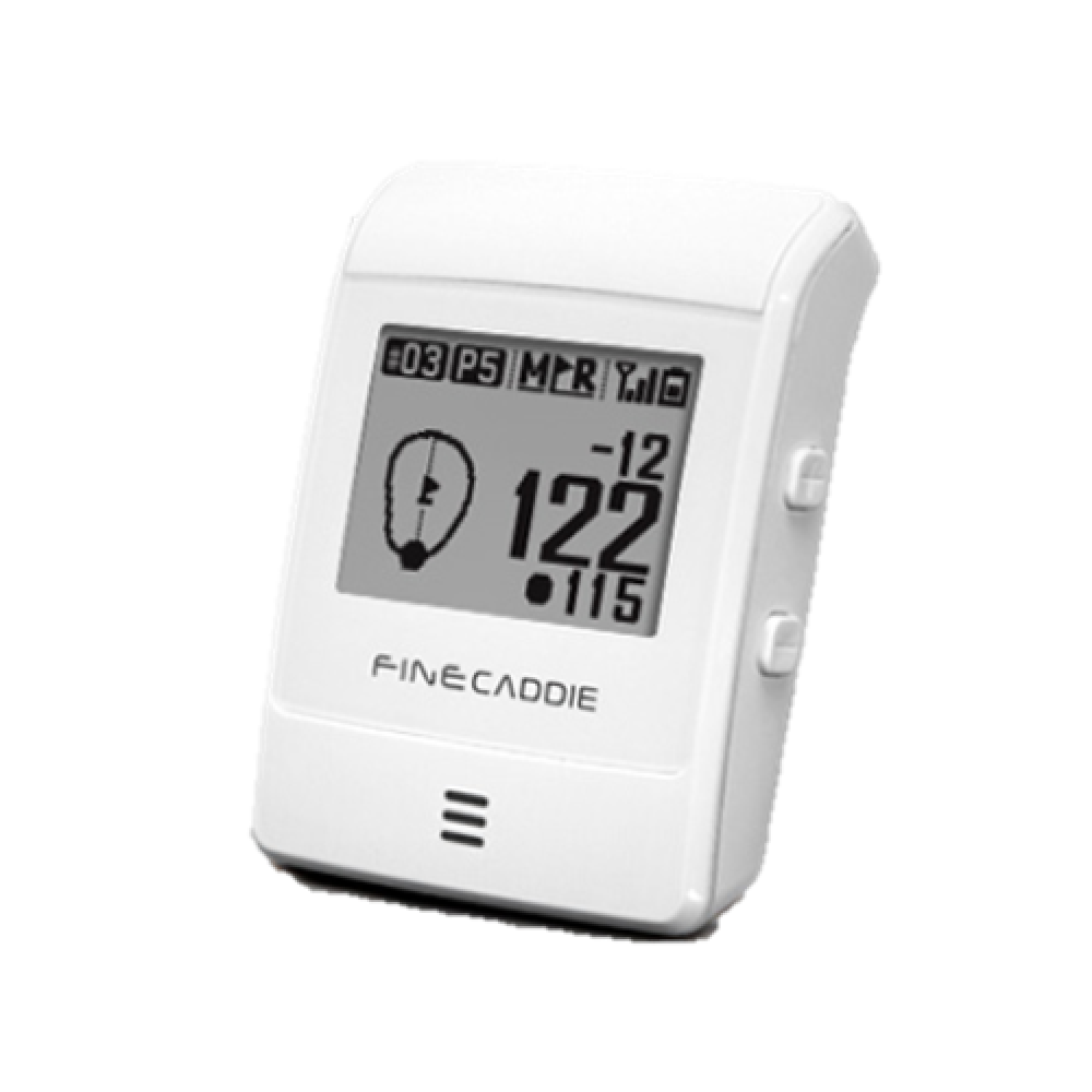 FineCaddie UP303 Turbo with Wristband(White)