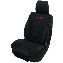 GT Car Seat Cover, Band Type, Black