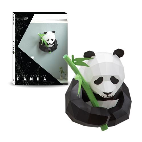 INTERIOR CRAFT Panda In The Little Zoo of My Mind Paper Kit 12 | Interior paper, decorative paper, sculpture