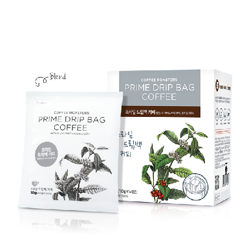 Prime House Drip Bag Coffee(A) - 4 Types, Prime, Colombia, Ethiopia, Guatemala | Prime House, Coffee, Drip