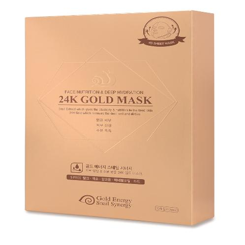 Best selling high performace 24K Gold Snail facial mask pack Face Nutrition Lifting Effect for face | Best selling high performace 24K Gold Snail facial mask pack Face Nutrition Lifting Effect for face