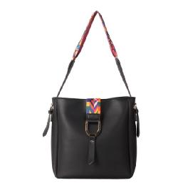 8616 pattern strap handbag