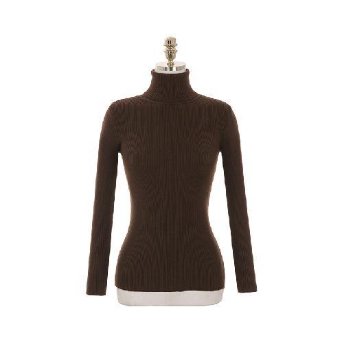 Sale 2018 op4006 Belt construction Polar neck knit and check pattern skirt set two piece set Very Cheap Sale Online Enjoy For Sale Official Site Online Low Price Cheap Online BU6rDf0zs