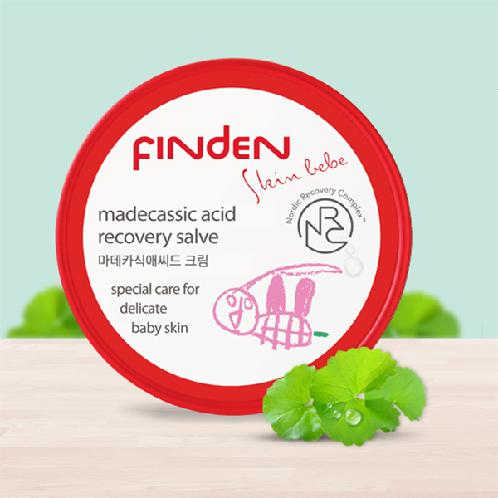 Finden Skinbebe Madecassic Acid Cream | Acid Cream, Baby Cream, Strengthened skin barrier,  Skin soothing effects ,Salve type