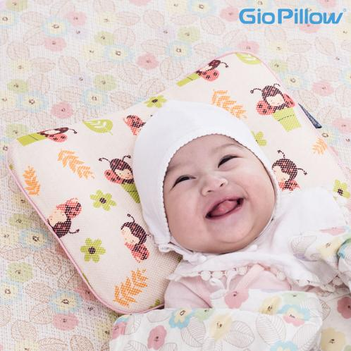 Gio Clavis's Gio Pillow for baby, toddler and kids(Small) | Easily Washable pillow, 100% strict seal sanitary control, advanced packing, Functional pillow