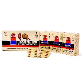 KOREAN RED GINSENG TABLET GOLD 500mg x 180 6Years Panax