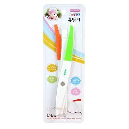 Dirt BYE Cleaning Tool - White Orange and Green