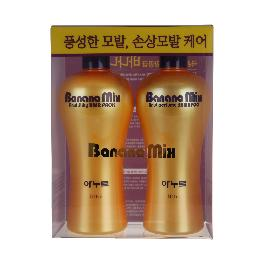 Banana Mix Hair Care Set ( Shampoo+Hair Pack)