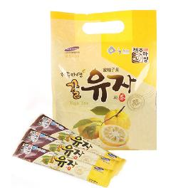 jeju honey citron tea stick