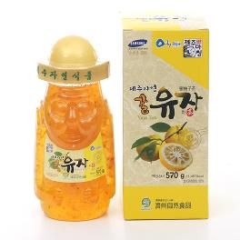 jeju honey citron tea 570g
