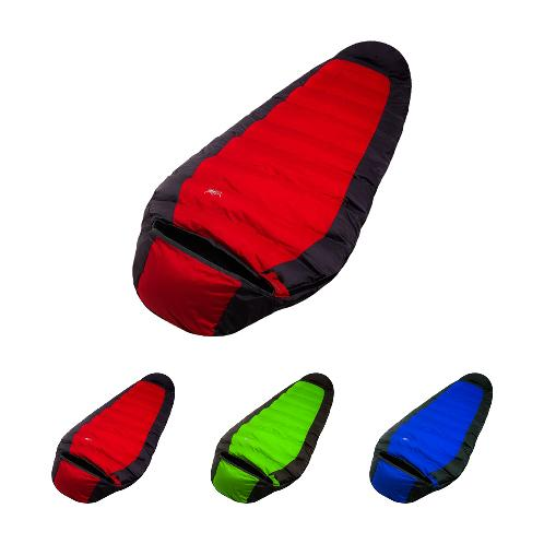 Silhouette Duck Down Sleeping Bag 3 Colors | sleeping bag, camping, camping goods, camping equipment