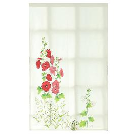 [Wild Flowers Story] Hollyhock Shade Curtain