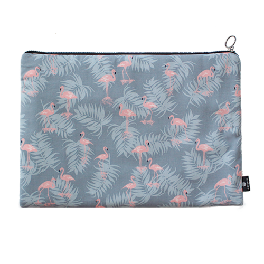 Notebook Pouch (Flamingo, Raccoon, Bouquet)