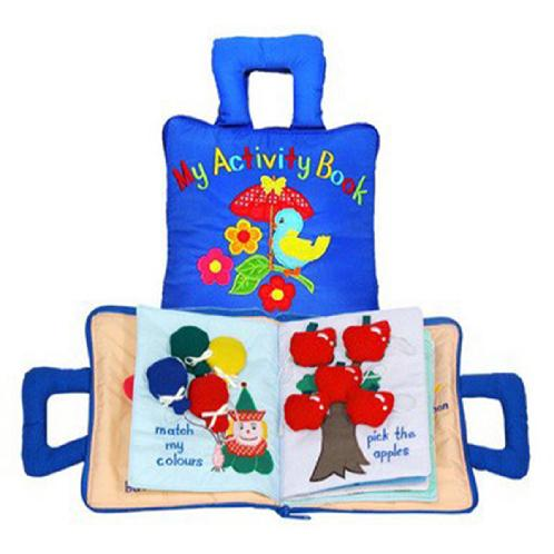 Activity Book | Activity Book,soft cloth book,clothbook
