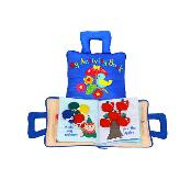 Hot selling wholesale Baby learning cloth Activity Soft Book