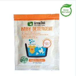 Green Fish baby Single Use Packets detergent