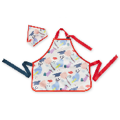 KIDS APRON & HEAD SCARF SET