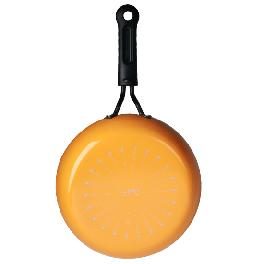 22cm comfortable frying pan-ORANGE