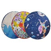 Star Nine Circular Cushion