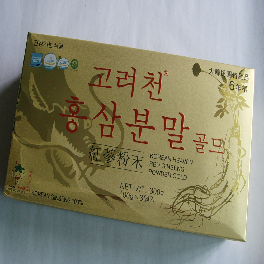 KOREAN HEAVEN RED GINSENG 6-Years Korean Red Ginseng Powder Gold (100g*3Bottles)