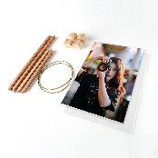 DIY SPRING PHOTO FRAME