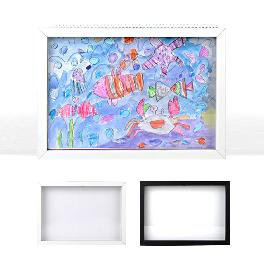 Sketchbook B4 Photo Frame White Black