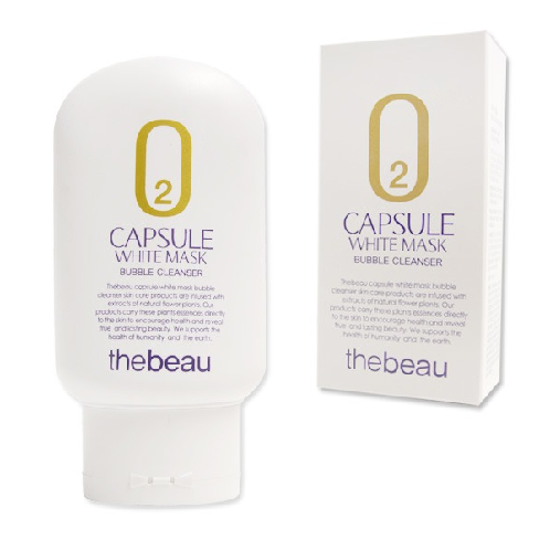 Capsule White Mask Bubble Cleanser | beauty, skin care, cleanser, bubble, thebeau