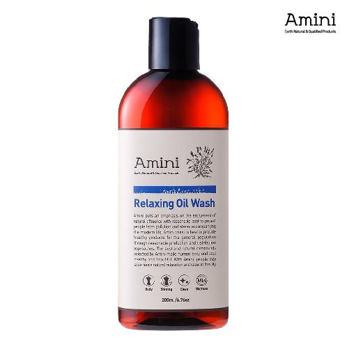 Relaxing Oil Wash 200ml - Thermal Spring Water & Botanical Oils - Body Oil to Bubble Foam | Body,Oil,Relaxing