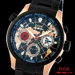 Brand Casual Watch Mens Analog Stainless Steel Case Band Japan Movement DOX Made in Korea