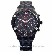 Swiss Made Luxury Sports Watches for Men Chronograph Quartz Stainless Steel Sapphire Crystal Water R