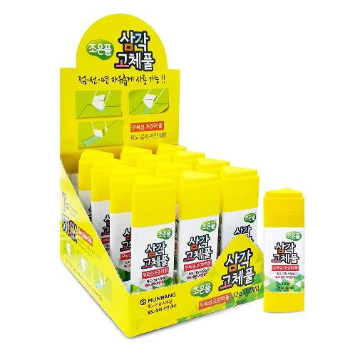 Non-Toxic Extra Strength Triangular Shape Office Glue Sticks 12g (12 Pack) | Glue,Extra,Strength