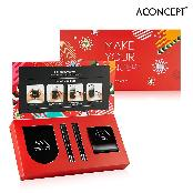 Make Your Concept Red Kit - Brightening A:Cushion 10g + Refill 10g + Red Lip & Cheek 1.5g + Red Lips