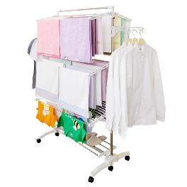 Wihte Eden Oversized Laundry Rack 7 stage (+blanket rack)