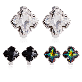 thumbnail image1 Swarovski Crystal 08 | earrings, crystal, leclairvaux, bluesand