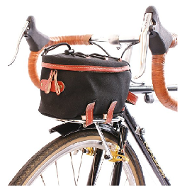 ZIMBALE Bicycle Waterproof Canvas Front Rackbag for Nitto Front Rack