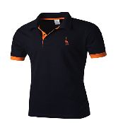 Nyfashioncity Mens Cotton Giraffe short sleeve Polo Shirts