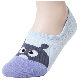 full image Sockstheway Womens Anti-Slip No Show Socks, Best Low Cut Liner with Animation Characters HPP