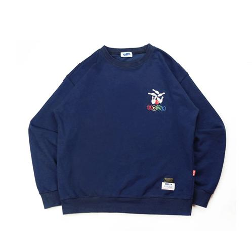 BOWL Crew Neck | over fit, sweat shirt, cotton