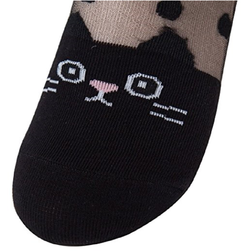 Sockstheway Womens Transparent Ankle Crew Casual Socks, Cute Animal Series