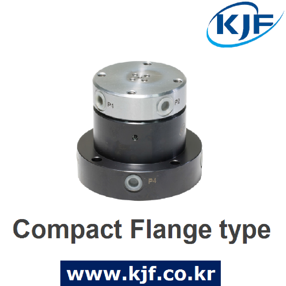 Made In South Korea KJF Hydraulic Pneumatic Rotary Joint Flange Type