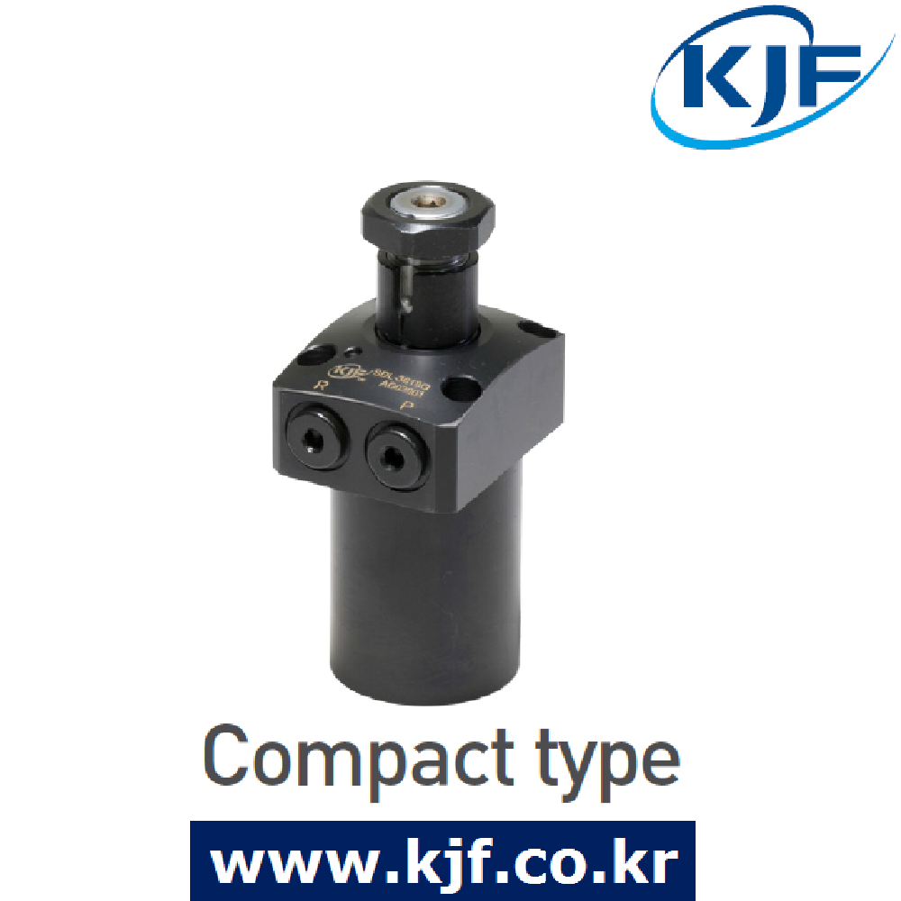 Made In South Korea KJF Hydraulic Swing Clamp Cylinder Compact, Top