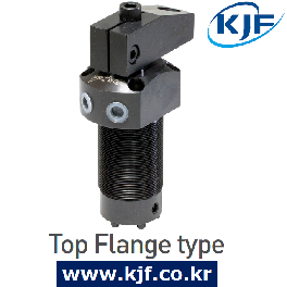 Made In South Korea KJF Hydraulic Swing Clamp Cylinder Compact, Top Flange, Bottom Flange Type