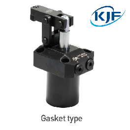 Made In South Korea KJF Hydraulic Link(Hinge) Clamp Cylinder Double Rod Type