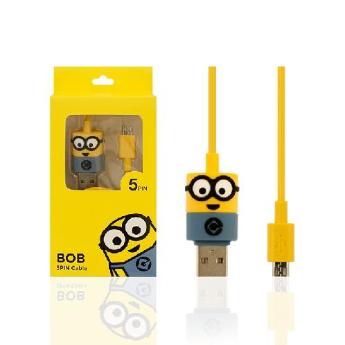 Minions USB cables | Mobile accessories,Character products,USB cable